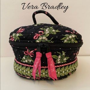 Vera Bradley Train Case Makeup Case